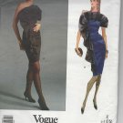 Vogue Paris Original Givenchy Pattern 2582 Misses' Dress Pattern Size 6,8,10 - Uncut