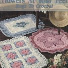 Flowers At Your Feet Rugs to Crochet - Leisure Arts Leaflet 1414