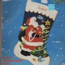 Titan Needlecraft Santa Felt Stocking Kit - No 85079