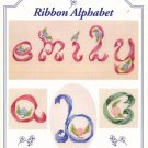 Just Crossstitch Ribbon Alphabet Designed by Cathy Livingston Patterns