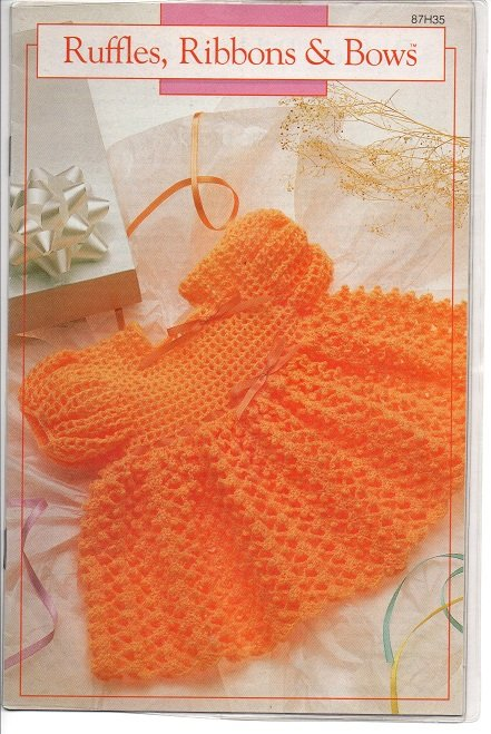 Annie's Attic Ruffles, Ribbons & Bows Crochet Patterns 87H35