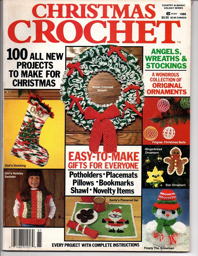 Christmas Crochet  Magazine 1988 - 100 Projects