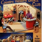 Plastic Canvas Fashion Doll Country Western Dance Club Book American School of Needlework No. 3133