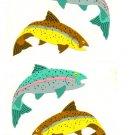 Mrs Grossman's Fish / Salmon Sticker #10H