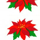 Mrs Grossman's Christmas Poinsettia Stickers #23I