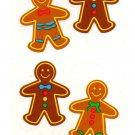 Mrs Grossman's Christmas Gingerbread Man Stickers #23J
