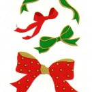 Mrs Grossman's Christmas Bows Sticker #23O