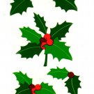 Mrs Grossman's Christmas Holly Stickers #24C