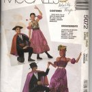 Adults Teen Boys Bullfighter Spanish Dancer Costumes Pattern McCall's 5072 Size Lg (40, 42) Uncut