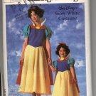 Simplicity Misse's Walt Disney Snow White Costume 7735 Size Med Uncut