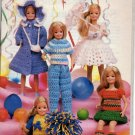 Annie's Attic Fashion Doll Little Sister Crochet Patterns 87D22