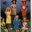 Annie's Attic Fashion Doll Work & Play Crochet Patterns 87D16