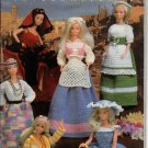 Annie's Attic Fashion Doll Wardrobe International Crochet Patterns 87D10