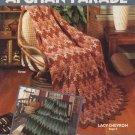 Afghan Parade Designed for Crochet - Leisure Arts Leaflet 335