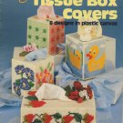 Tissue Box Covers 8 Designs in Plastic Canvas Patterns ASN Booklet S-19