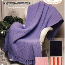 Cozy Comfort Afghans Pattern - Afghan Collectors Series - The Needlecraft Shop 932025