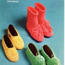 Slippers to Knit - King Patterns No 2022