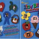 Plastic Canvas Itsy Bitsy Photo Magnets Patterns- The Needlecraft Shop 983023