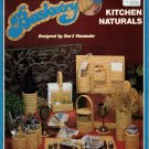 Plastic Canvas Needlepoint Basketry Kitchen Naturals Patterns B300