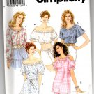 Simplicity 9041 Misses' Pullover Tops w/ Long & Short Sleeves Pattern - Size AA - XS, S, M - Uncut