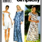 Simplicity 9040 Misses'/Miss Petite Dress and Jumpsuit Pattern - Size H - 6, 8, 10 - Uncut