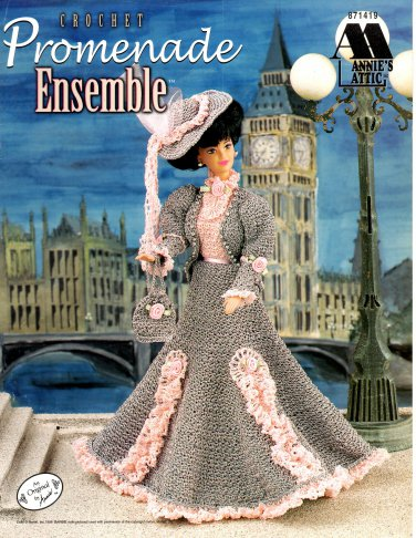 Crochet Promenade Ensemble Pattern - Annie's Attic 871419