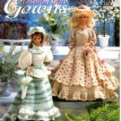 Crochet Victorian Fashion Doll Gowns - Annie's Attic 879601