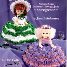 Birthstone Dolls Volume One - American School of Needlework Crochet Book 1118