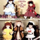 Darling Dresses Crochet Collection for Dolls - American School of Needlework Crochet Book 1109