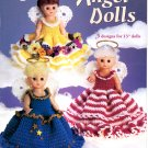 Crochet Angel Dolls - American School of Needlework Crochet Book 1215
