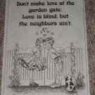 """Love is Blind"" # 2593 Tri Chem Preshaded Picture & Chart"