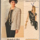 Vogue Pattern American Designer Anne Klein 2280 Misses' Jacket & Top Pattern Size 6,8,10 - Uncut