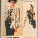 Vogue Pattern American Designer Anne Klein 2280 Misses' Jacket & Top Pattern Size 6,8,10 - Uncut