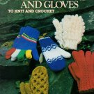 Mittens And Gloves to Knit and Crochet - Leisure Arts Leaflet 110