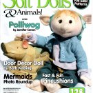 Soft Dolls & Animals! September 2011 Dolls-Bears-100's of Tips-Hints-Products-Great Ideas magazine