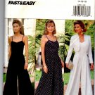 Butterick Fast & Easy 6789 Misses' Petite Jacket & Jumpsuit Pattern Size 14-16-18 Uncut