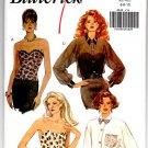 Butterick 6545 Misses' Bustier & Shirt Pattern Size 6-8-10 Uncut