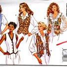 Butterick 6714 Misses' Classics Fast & Easy Vest Pattern Size 6-8-10-12 Uncut
