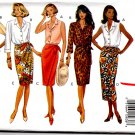 Butterick 6695 Misses' Classics Fast & Easy 2-Piece Dress Pattern Size 6-8-10 Uncut