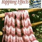 Rippling Effects Crochet Afghans - Leisure Arts Crochet Leaflet 2761