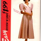 6913 Easy Stitch 'N Save Misses' Dress Pattern - Size A 8-14 - Uncut