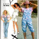 Simplicity 7176 Misses' Overalls in Three Lengths Pattern - Size (PT-XL) - Uncut