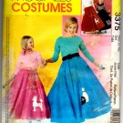 Girl's 50's Costumes Pattern McCall's 3375 Girls Size (7-16) Uncut