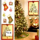 Simplicity 2488 Christmas Decorations Patterns - Uncut