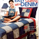 Quilting Easy Quilting with Denim - House of White Birches 141220