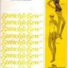 Stretch & Sew 1335 One-Shoulder and Tube Swimsuit Pattern - Uncut