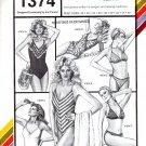 Stretch & Sew 1374 V-neck Maillot & Bikini Pattern - Uncut