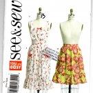 See & Sew Apron Pattern B5518 One Size - Uncut