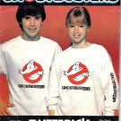 "Butterick 997 Misses' & Men's T-Shirt and Ghostbusters Transfer 30-44"" Chest Uncut"