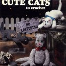 Cute Cats to Crochet Pattern by Sue Penrod Leisure Arts Leaflet 1105